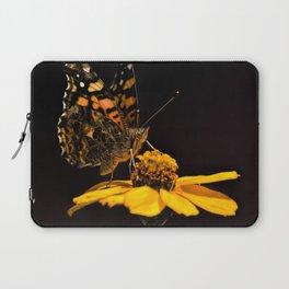 Zinnia Sipping Laptop Sleeve