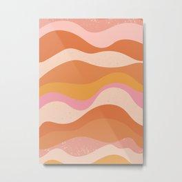 Waves of Emotion Metal Print