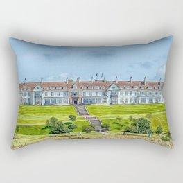 The Turnberry Hotel Rectangular Pillow