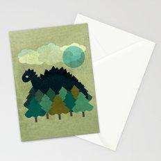 BLUE DINO Stationery Cards