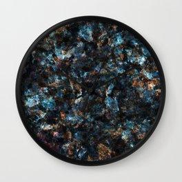Marble mash 2 Wall Clock