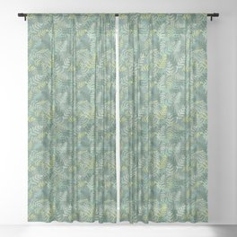 Ferns Sheer Curtain