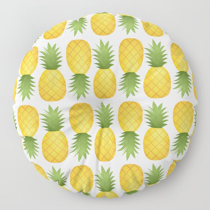 Pineapple Pattern Floor Pillow