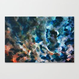 FRACTAL FOAM Canvas Print