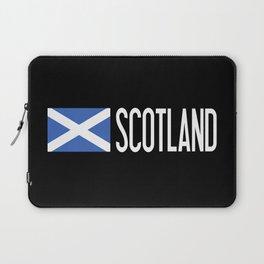 Scotland: Scottish Flag & Scotland Laptop Sleeve