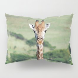 Giraffe Standing tall Pillow Sham