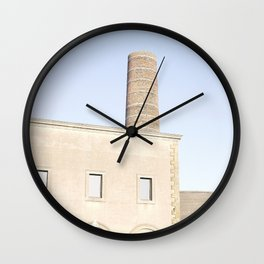 Industrial House Wall Clock