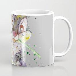 Bunny With flower Coffee Mug