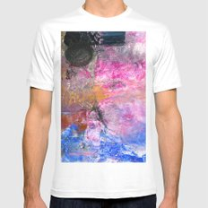 It's About the Lace, Silly Mens Fitted Tee MEDIUM White