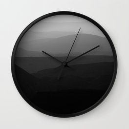 Mountains of the Judean Desert 9 Wall Clock