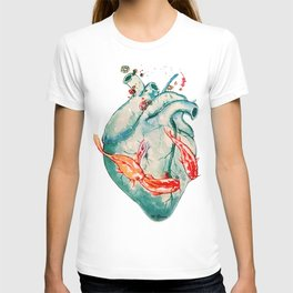 Koi heart T-shirt