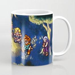 Chrono Trigger Camping Scene Coffee Mug