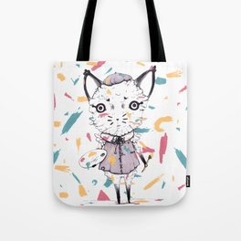 Adding Paint Tote Bag