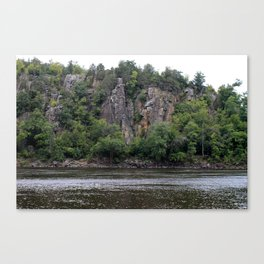 River Valley Floor Canvas Print