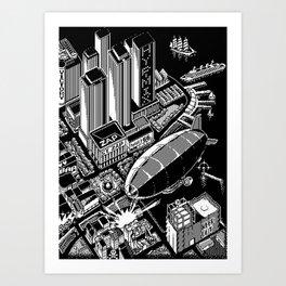 Zepplin Art Print