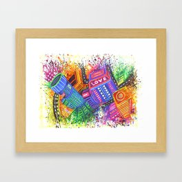 Enter the Void Part 2 Framed Art Print