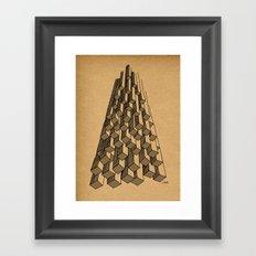 - cascade - Framed Art Print