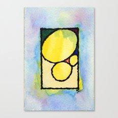 Pedras Canvas Print