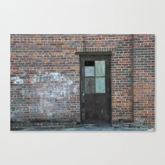 A Door in the Wall Canvas Print