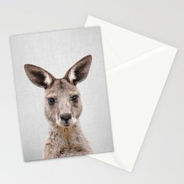 Kangaroo 2 - Colorful Stationery Cards