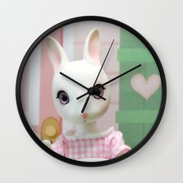 Dorothy and little bunnies Wall Clock