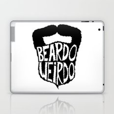 beardo weirdo Laptop & iPad Skin