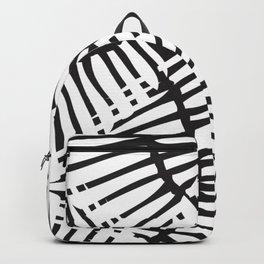 Basketweave-Ink Backpack