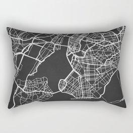 New York City Map Rectangular Pillow
