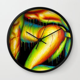 Feeling Your Warmth Wall Clock