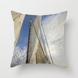 Sailing Fun Throw Pillow