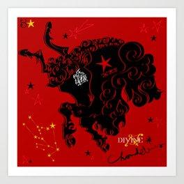Taurus:Zeus:Toro Art Print