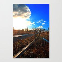 Sandy River Delta Park - Autumn Canvas Print