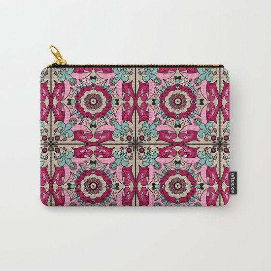 A colourful ornament . Carry-All Pouch