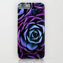 Succulents Dark Unicorn iPhone Case