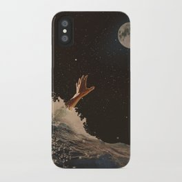 Wave goodbye iPhone Case