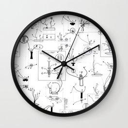 schematic Wall Clock