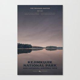 Kejimkujik National Park Canvas Print