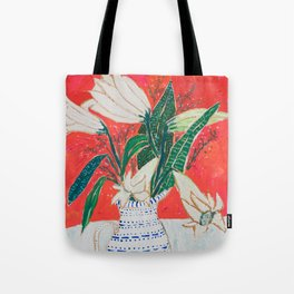 Easter Lily Bouquet Tote Bag