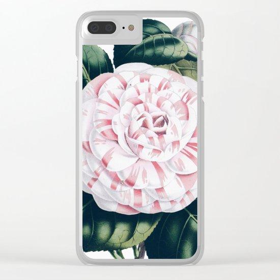 Vintage Botanic Clear iPhone Case