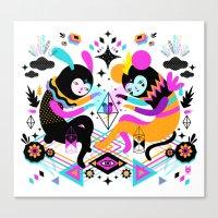 hocus pocus Canvas Prints featuring Hocus Pocus! by Muxxi