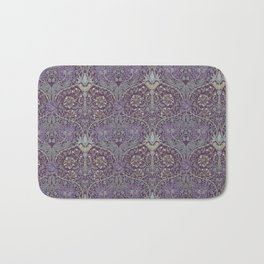 Blueberries and Spoon Bath Mat