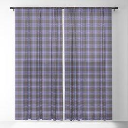 Dunlap Tartan Plaid Sheer Curtain