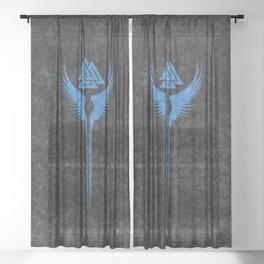 Vikings Valkyrie of Odin Sheer Curtain