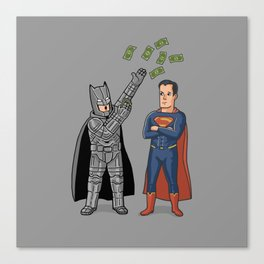 Super Rich 2 Canvas Print