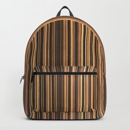 Twine Vertical Stripes Backpack