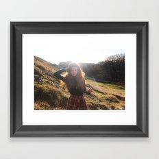 sunlight's daughter Framed Art Print