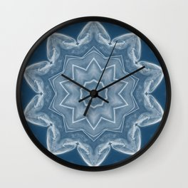 Smoke & Mirrors Wall Clock