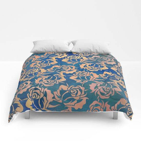 Rose pattern Comforters
