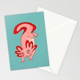 Axolotl Stationery Cards