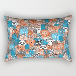 plushies retro Rectangular Pillow